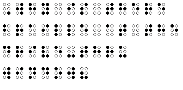 Braille Riddle