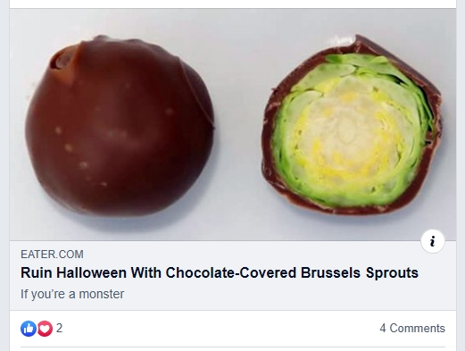 Choc Brussels Sprouts